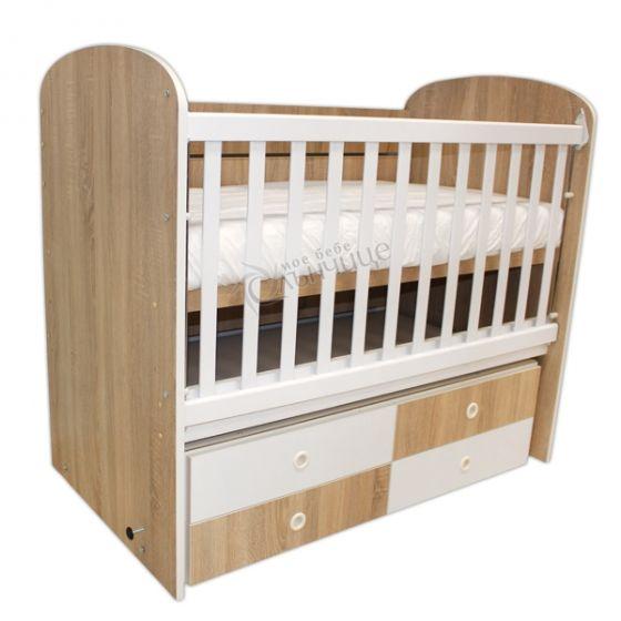 Легло Диана Woody - люлка с четири чекмеджета