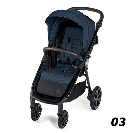 Лятна количка LOOK AIR - BABY DESIGN 2020 - синя