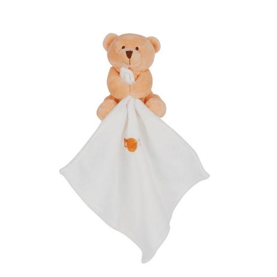Мече с Дуду за гушкане Оранж - BabyNat
