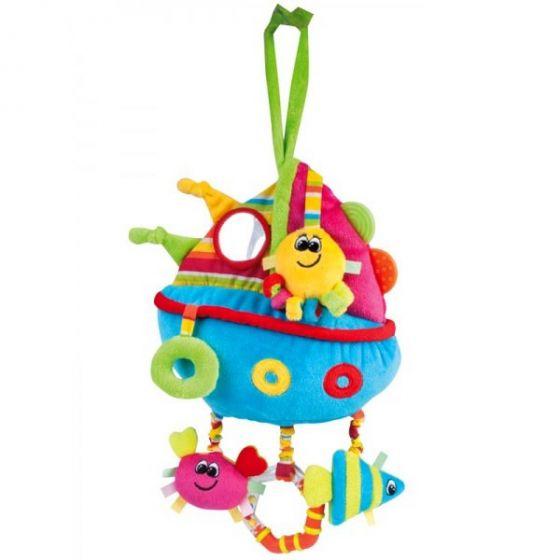 Мека образователна играчка Кораб - CANPOL