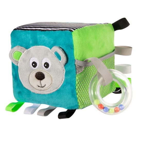Меко кубче BEARS - сив