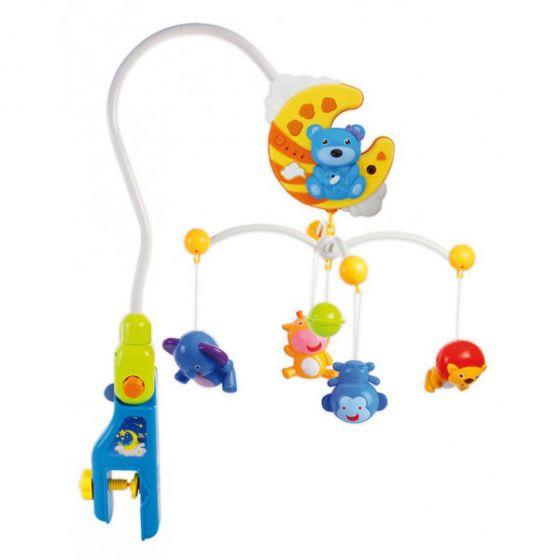 Музикална играчка с прожектор и дистанционно - BABY MIX