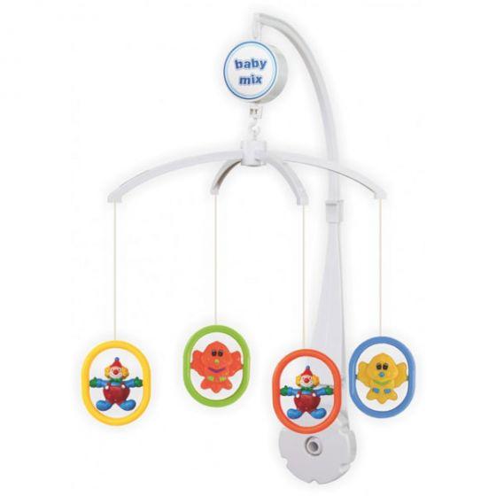 Музикална играчка за легло Цирк - BABY MIX