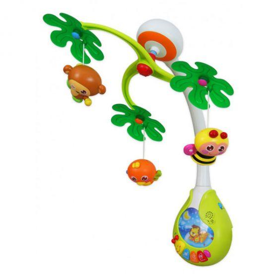 Музикална играчка за легло Джунгла - BABY MIX