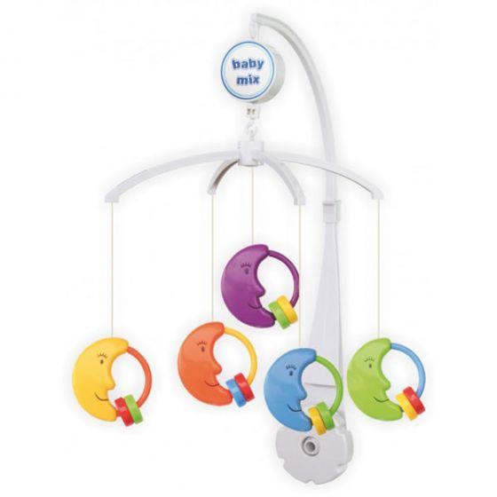 Музикална играчка за легло Лунички - BABY MIX