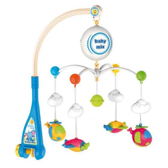 Музикална играчка за легло Самолети - BABY MIX