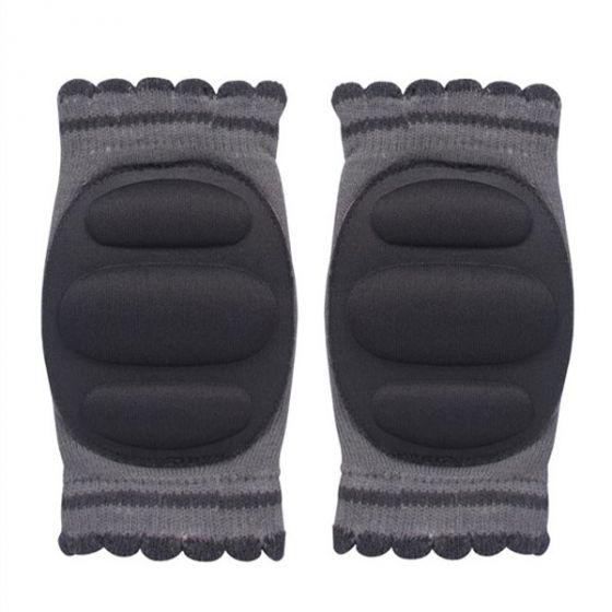 Наколенки чорапче - сив