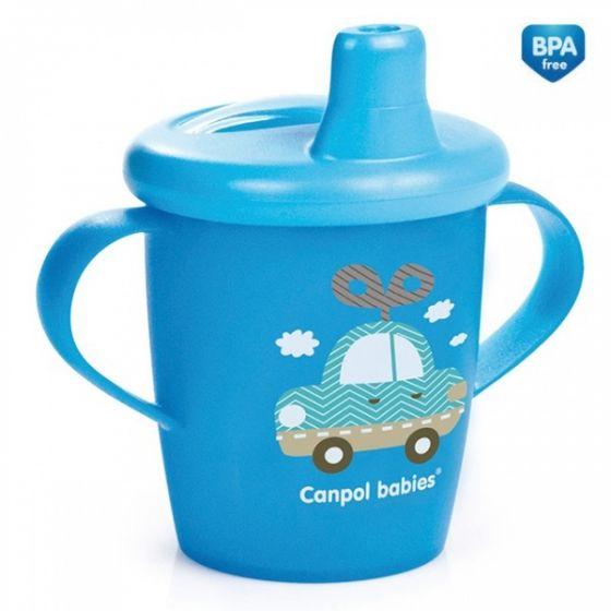 Нетечаща чаша с дръжки Toys - CANPOL