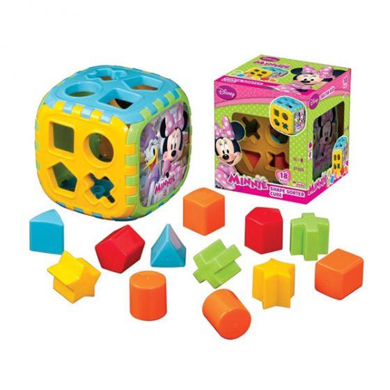 Образователен куб сортер Minnie