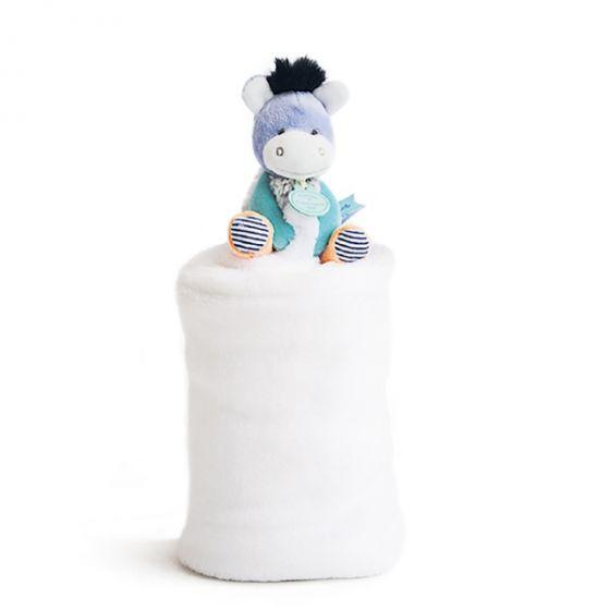 Одеало с играчка LOVELY DONKEY - Doudou et Compagnie