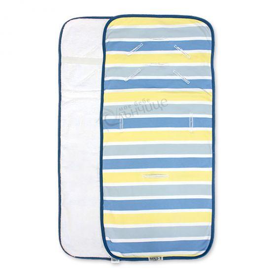 Подложка за количка с хавлиен гръб - Stripе