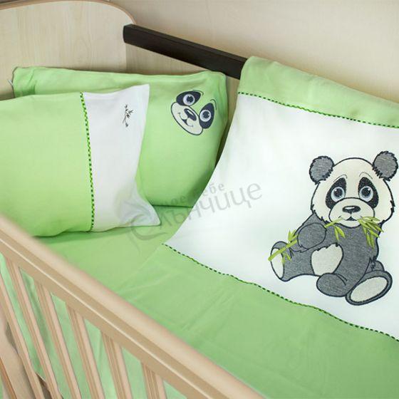 Спален комплект четири части Pandoo - Зелен