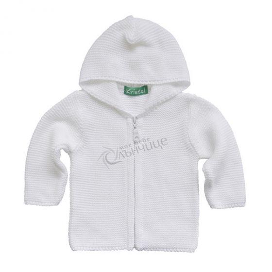 Плетена жилетка White