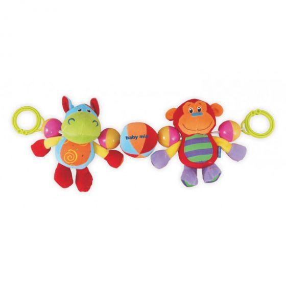 Плюшена играчка за количка Приятели - BABY MIX