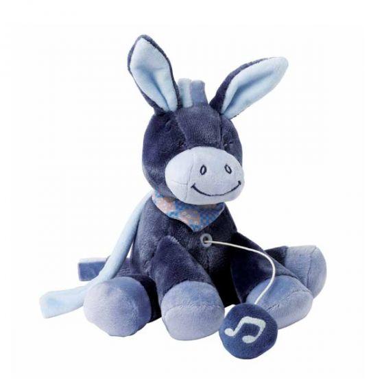 Плюшена музикална играчка Alex - Nattou