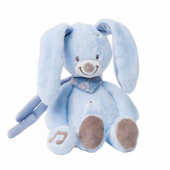 Плюшена музикална играчка Bibou - Nattou