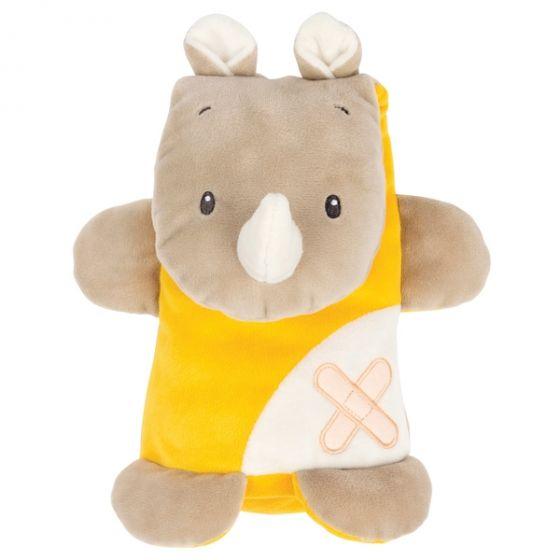 Плюшена играчка Cuddly Rhino - Nattou