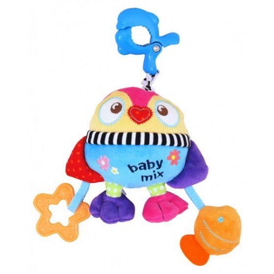 Плюшена музикална играчка Пиленце – BABY MIX
