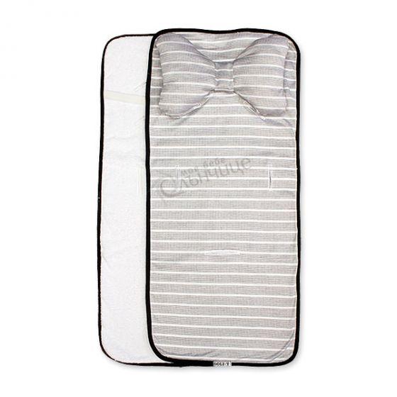 Подложка за количка с възглавница и хавлиен гръб - Darkness