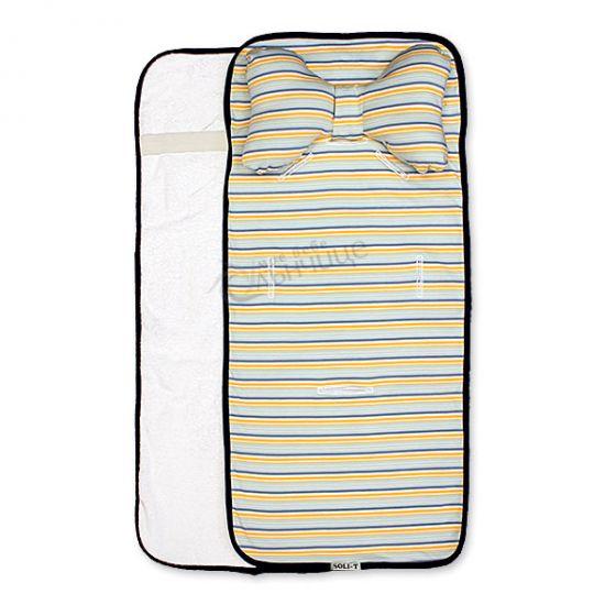 Подложка за количка с възглавница и хавлиен гръб - Forever
