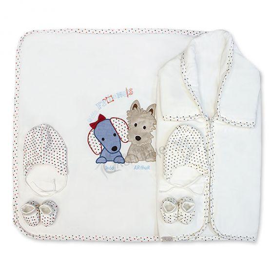 Одеяло - порт бебе - Friends