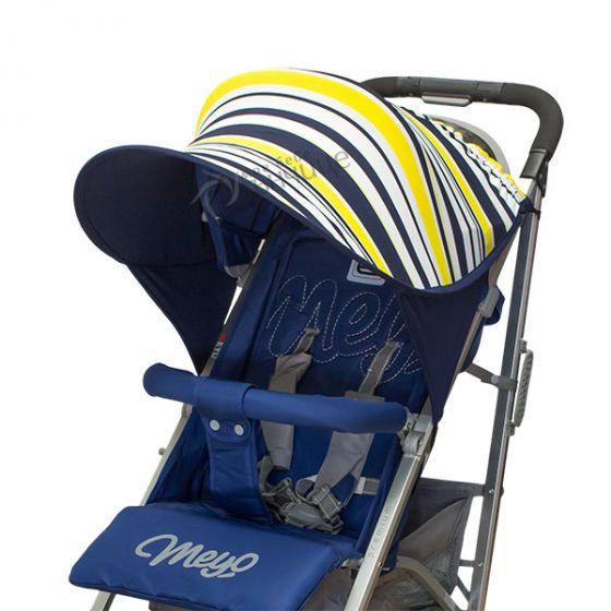 Двулицев сенник за количка с UV защита - Fantasy