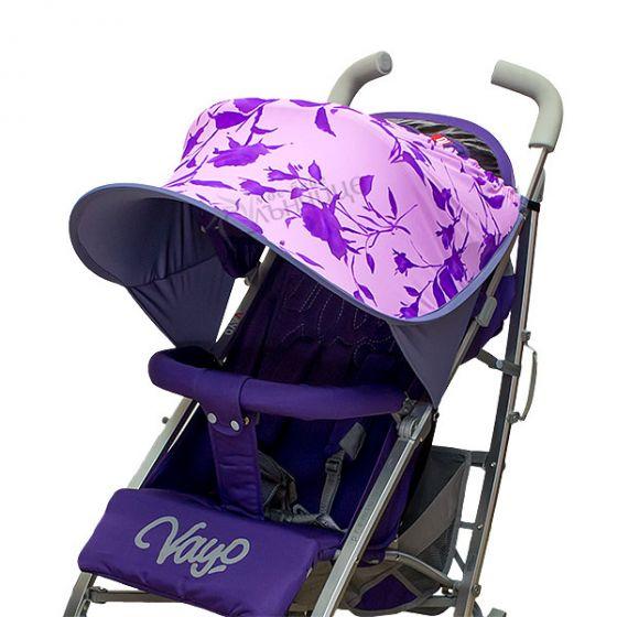 Двулицев сенник за количка с UV защита - Magic