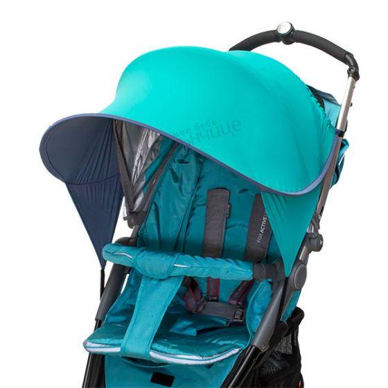 Двулицев сенник за количка с UV защита - Turkoazoo