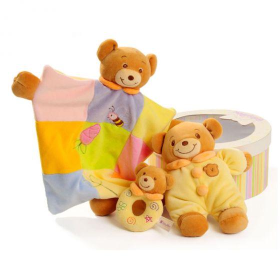 Подаръчен комплект играчки Мече - Baby Bow