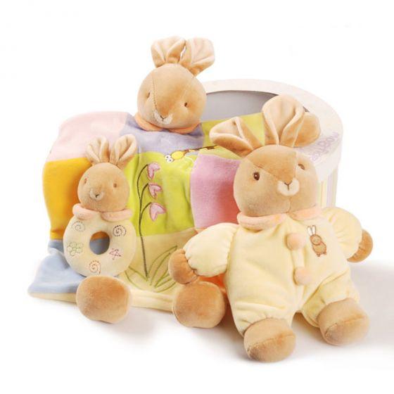 Подаръчен комплект играчки Зайче - Baby Bow