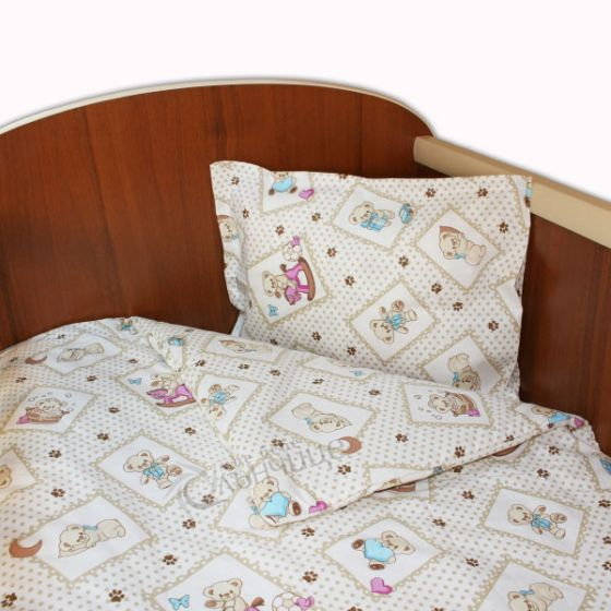 Спален комплект три части - BABY PAWS Син