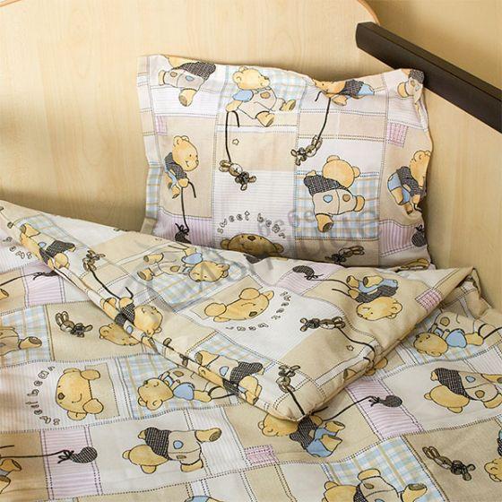 Спален комплект три части Happy Bear - Бежов