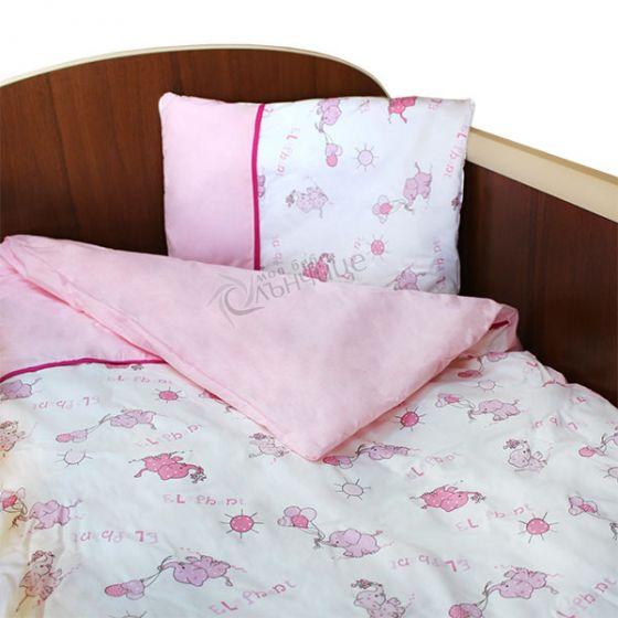 Спален комплект пет части - Elephant Розов