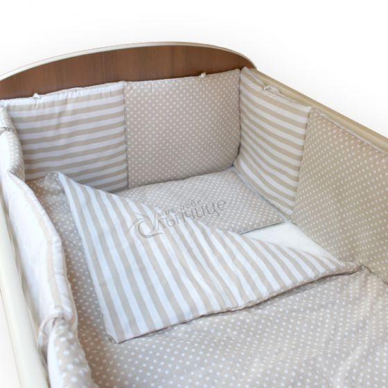 Спален комплект от девет части - Dots & Stripes