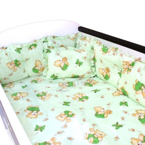Спален комплект седем части - HONEY GREEN