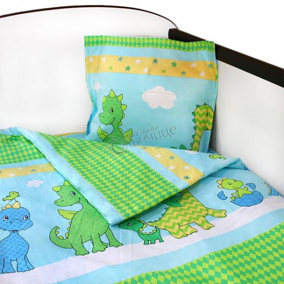 Спален комплект три части - Динозаври