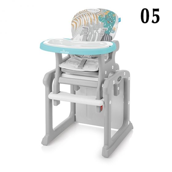Стол за хранене 2в1 CANDY NEW - BABY DESIGN
