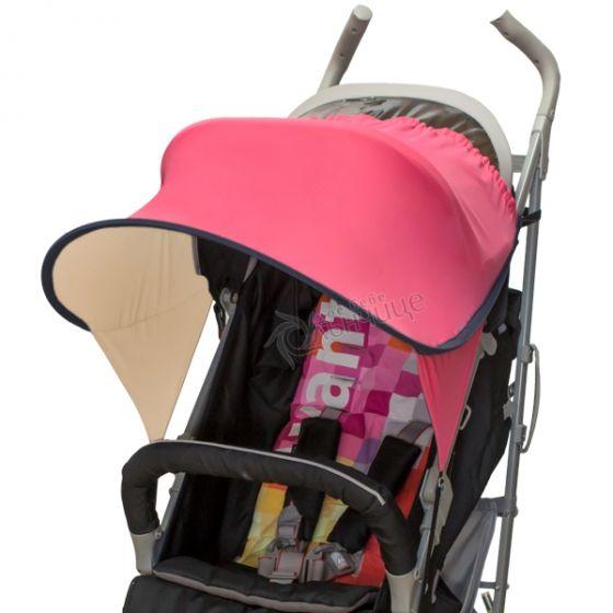 Двулицев сенник за бебешка количка с UV защита - Sugar