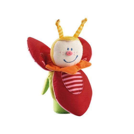 Текстилна дрънкалка Пчеличката Трикси - HABA