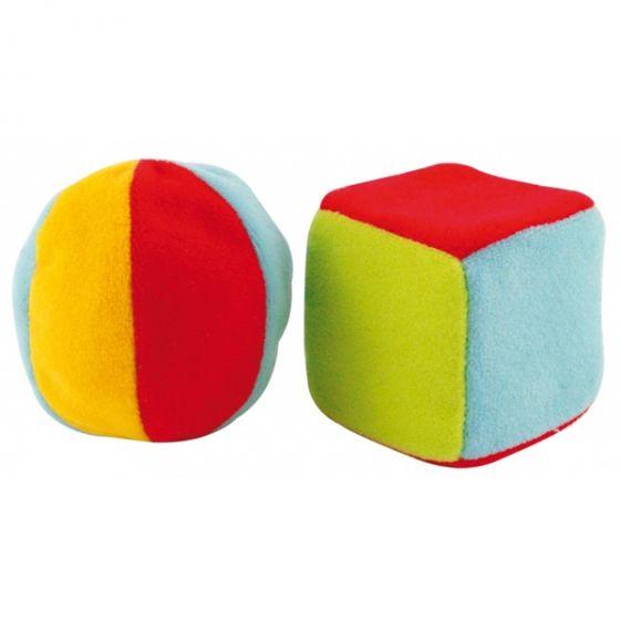 Плюшени играчки Топка и куб - CANPOL