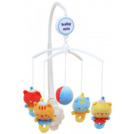 Музикална играчка за легло Happy Bears - BABY MIX