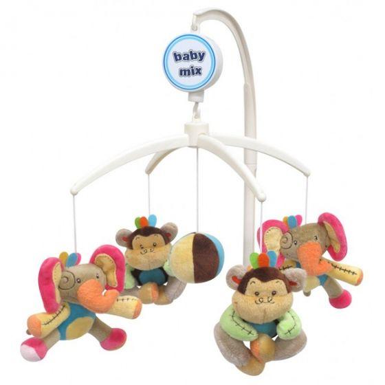 Музикална играчка за легло Приятели - BABY MIX