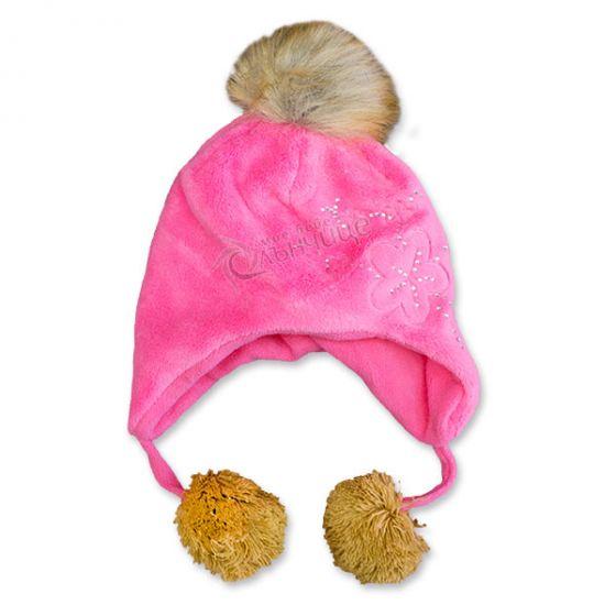 Зимна плюшена шапка - Little Girl