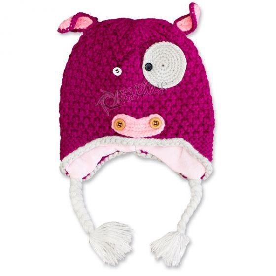 Зимна шапка плетиво - Kitty