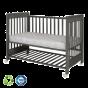 Дървено легло Dreamy Plus 2 Woody Gray 60/120см - Treppy