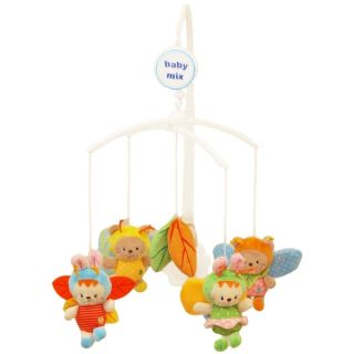 Музикална играчка за легло Happy Bees - BABY MIX