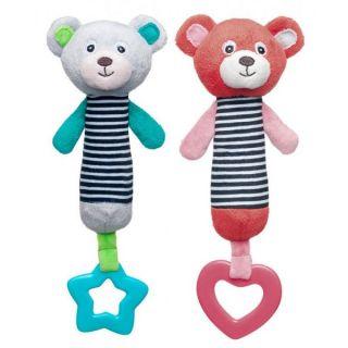 Плюшена играчка със свирка Teddy Bear - Canpol