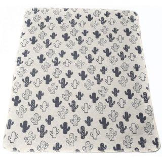 Памучно одеяло - Кактуси