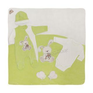 Комплект за изписване с порт бебе - Bunny