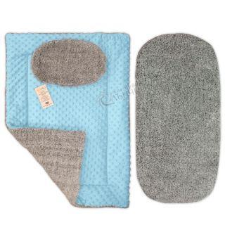 Луксозен зимен комплект за количка - Softwell Gray